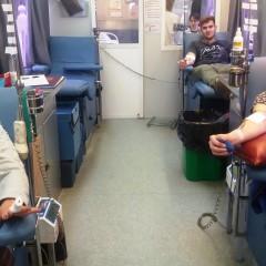 Donantes de sangue