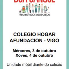 campaña de doazón de sangue