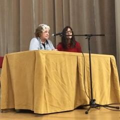 Carmen Avendaño no Colegio Hogar Afundación