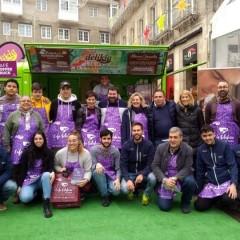 La Cocina Gráfica participa un ano máis no Café Solidario