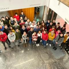 1º Artes Gráficas visita CORETI e UNITER na Coruña