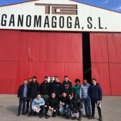 2º de Soldadura e Calderería visita GANOMAGOGA